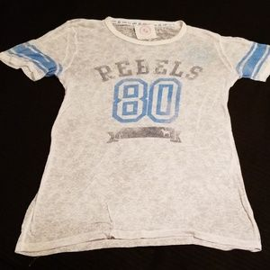 "Pink vs ""Rebels 80"" T-Shirt Large Nwot"